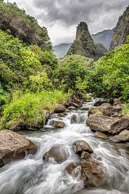 Photograph - Iao Valley Maui by Pierre Leclerc Photography