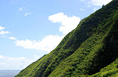 Photograph - Iao Valley Mountain Slopes by Marilyn Wilson