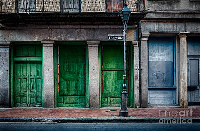 Photograph - Iberville Street In French Quarter Nola by Kathleen K Parker