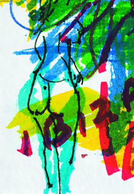 Painting - Ibiza 5 by Anthony Fox