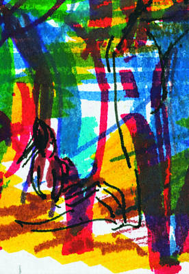 Painting - Ibiza 6 by Anthony Fox
