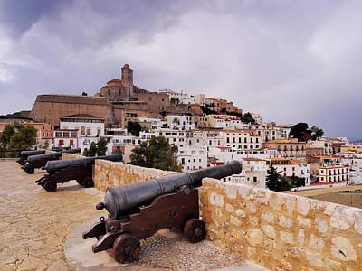 Dalt Photograph - Ibiza Town by Karol Kozlowski