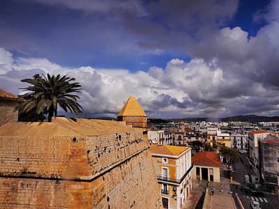 Dalt Photograph - Ibiza Town Walls by Karol Kozlowski