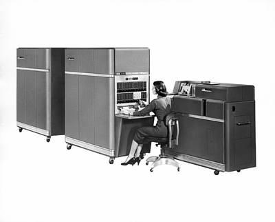 Ibm 650 Computer Art Print