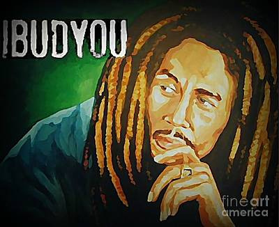John Marley Digital Art - Ibudyou by John Malone