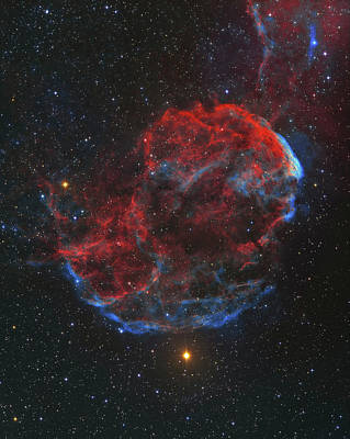 Photograph - Ic 443 Supernova Remnant, Known by Lorand Fenyes