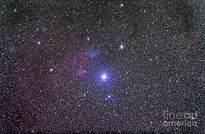 Ic Images Photograph - Ic 59 And Ic 62 Faint Reflection by Alan Dyer