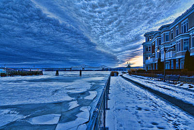Ice Station Hudson Art Print by Jeffrey Friedkin