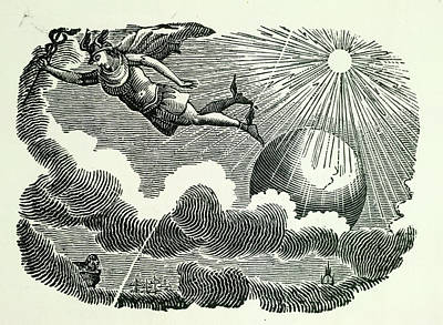 Icarus Art Print by British Library