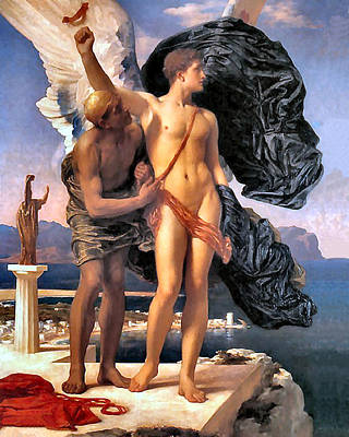 Painting - Icarus  by Frederick Lord Leighton