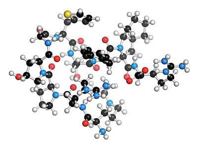 Icatibant Hereditary Angioedema Drug Art Print