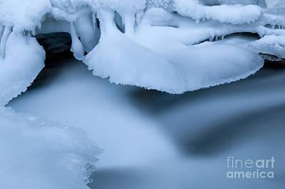 Ice 19 Art Print by Bob Christopher