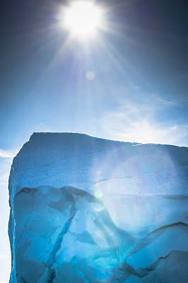 Photograph - Ice And Sun by David Pinsent