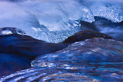 Photograph - Ice And Water by Jeff Sinon