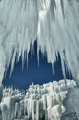 Photograph - Ice Castle 1 by A Hint of Color Photography