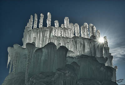 Photograph - Ice Castle 2 by A Hint of Color Photography