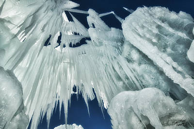 Photograph - Ice Castle 4 by A Hint of Color Photography