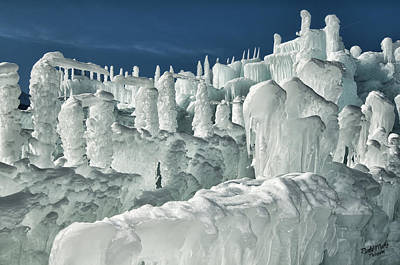 Photograph - Ice Castle 5 by A Hint of Color Photography