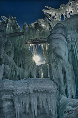 Photograph - Ice Castle 6 by A Hint of Color Photography