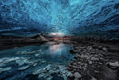 Cold Photograph - Ice Cave by Javier De La