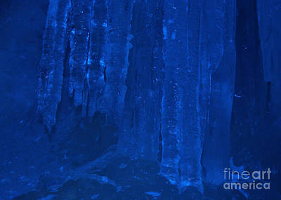 Photograph - Ice Cave by Rudi Prott