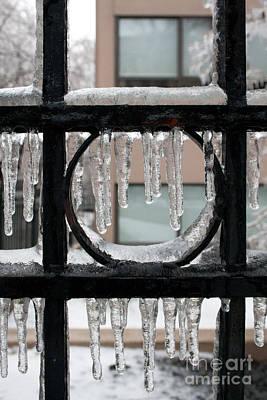 Toronto Photograph - Ice Circle by Joe Fantauzzi