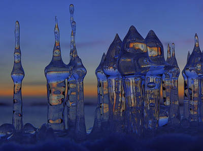 Art Print featuring the photograph Ice City by Sami Tiainen