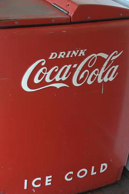 Photograph - Ice Cold Coca Cola by Caroline Stella