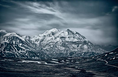Photograph - Ice Cold Denali by John Haldane