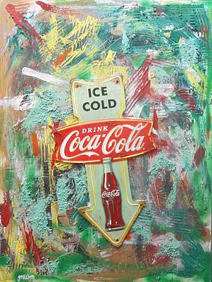 Mixed Media - Ice Cold by Gh FiLben