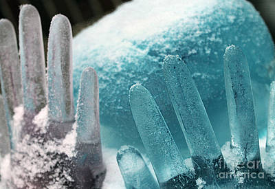 Photograph - Ice Cold Hands 2 by Nina Silver