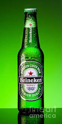 Photograph - Ice Cold Heineken by Patrik Lovrin