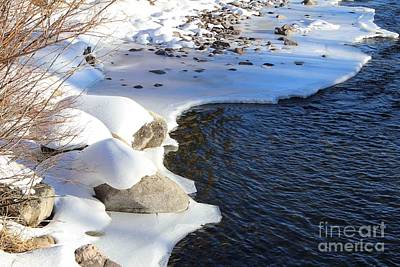 Art Print featuring the photograph Ice Cold Water by Fiona Kennard