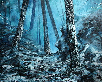 Painting - Ice Cold Wonder by Jean Walker
