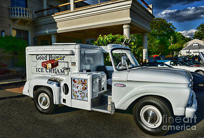 Ice Cream Man Art Print by Paul Ward