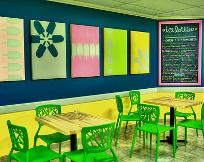 Photograph - Ice Cream Shop by Joann Vitali