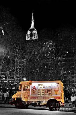 Photograph - Ice Cream Truck  by Sarah Mullin