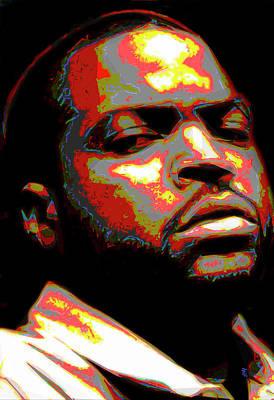 Rap Painting - Ice Cube by  Fli Art