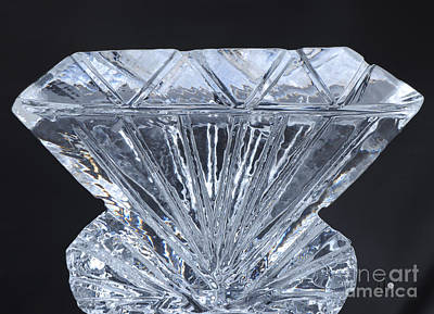 Photograph - Ice Diamond by Ronald Grogan