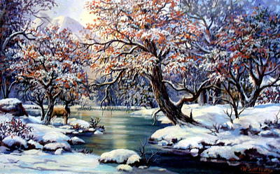 Painting - Ice Dreams by W  Scott Fenton
