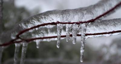 Photograph - Ice Drippings by Douglas Pike