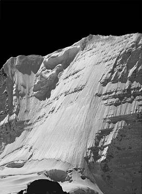 Photograph - 102489-e-ice Face Mt. Robson by Ed  Cooper Photography