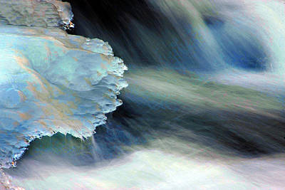 Thawing Time Photograph - Ice Fantasy by Mike Flynn