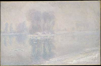 Ice Floe Painting - Ice Floes by Celestial Images