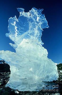 Ice Formation Art Print by Art Wolfe