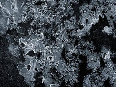 Photograph - Ice Formation by Vladimir Kholostykh