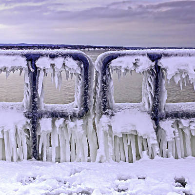 Photograph - Ice Gate by Mary Underwood