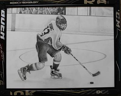 Ice Hockey Art Print by Gary Reising