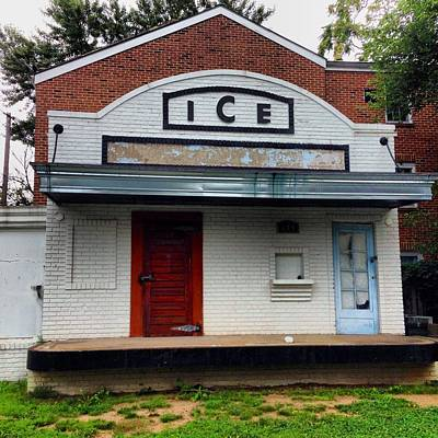 Photograph - Ice House - Old Town Alexandria by Jennifer Brande