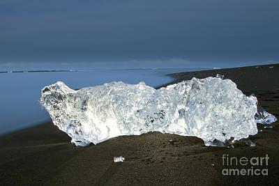 Global Design Shibori Inspired - Ice In Sand by Gunnar Orn Arnason